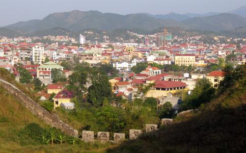Một góc Thành nhà Mạc thuộc thành phố Lạng Sơn
