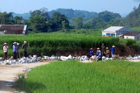 Xây dựng nông thôn mới: Chắt chiu nguồn lực