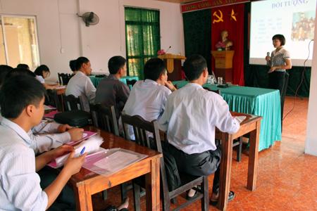 Toàn tỉnh: 1.640 cán bộ được tập huấn xây dựng nông thôn mới
