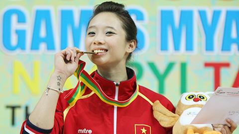 Dương Thúy Vi giành HCV đầu tiên cho đoàn Việt Nam