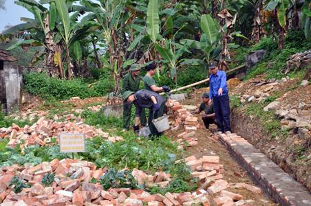 Đảng ủy Quân sự huyện Tràng Định: Học tập và làm theo Bác