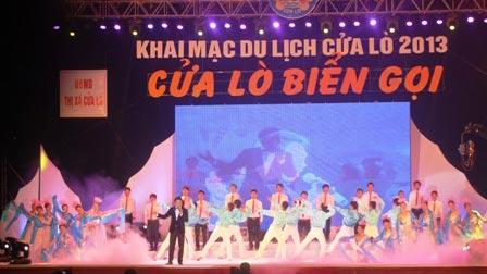 Đồ Sơn, Cửa Lò khai mạc lễ hội du lịch 2013