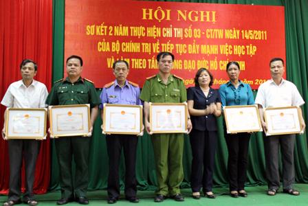 Huyện Chi Lăng: Hiệu quả thiết thực từ thực hiện Chỉ thị 03