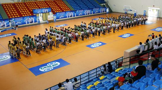 Khai mạc giải bóng rổ U17 quốc gia – khu vực phía Nam