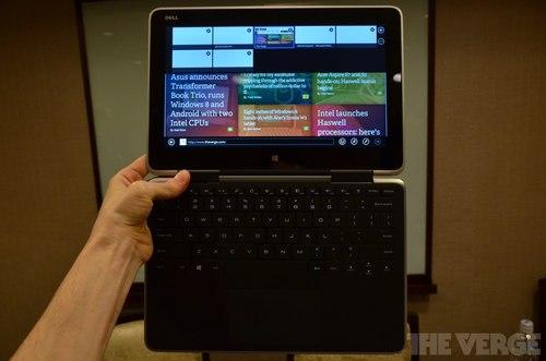 Laptop màn hình cảm ứng lật 360 độ của Dell