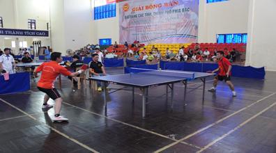 Giải Bóng bàn Báo Đảng các tỉnh, thành phố phía Bắc lần thứ XII thành công tốt đẹp.