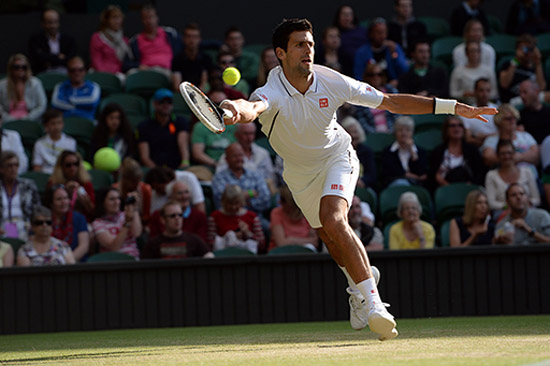Djokovic và Murray dễ dàng tiến vào tứ kết Wimbledon