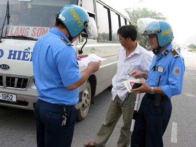 Thanh tra Giao thông vận tải: Xử phạt 505 lỗi vi phạm trong lĩnh vực giao thông