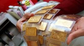 Giá vàng giảm nhẹ về 37,75 triệu đồng/lượng