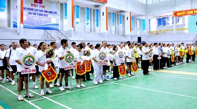 85 vận động viên tham dự Hội thi thể thao người cao tuổi