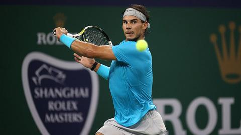 Nadal dừng bước ở bán kết Giải quần vợt Thượng Hải Masters