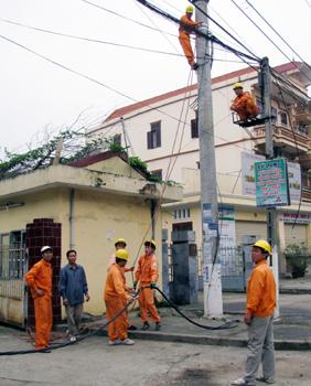 Công ty Điện lực Lạng Sơn: Tích cực tham gia xây dựng nông thôn mới