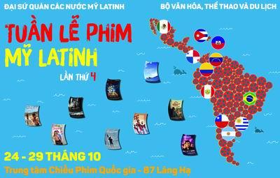 Tuần lễ phim Mỹ La tinh lần thứ IV