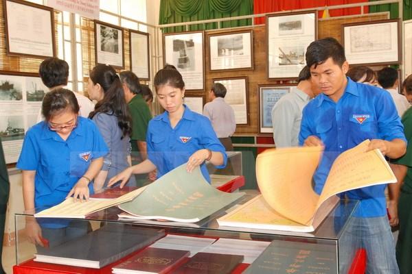 Trưng bày tư liệu Hoàng Sa, Trường Sa của Việt Nam tại Bình Thuận