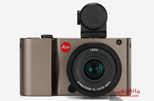 Máy ảnh không gương lật Leica TL bất ngờ lộ ảnh thật