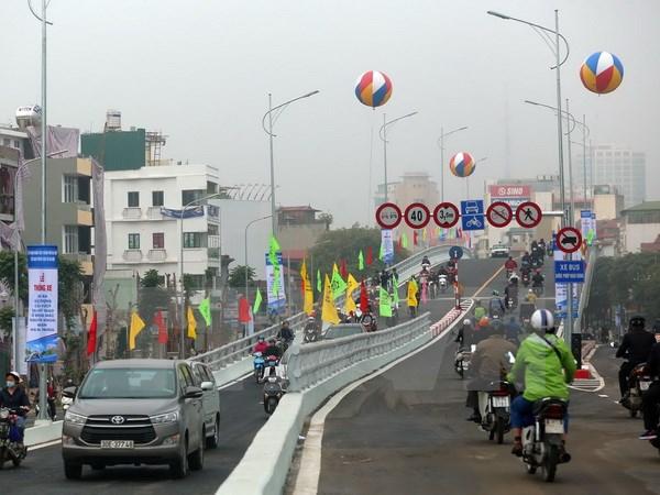 Hà Nội chính thức thông xe cầu vượt Ô Đông Mác-Nguyễn Khoái