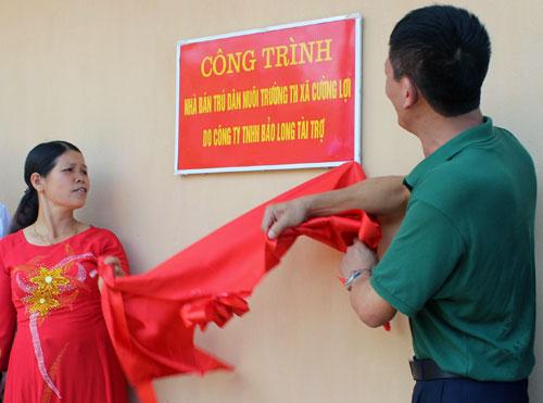 Hội Doanh nhân trẻ chung tay xây dựng nông thôn mới