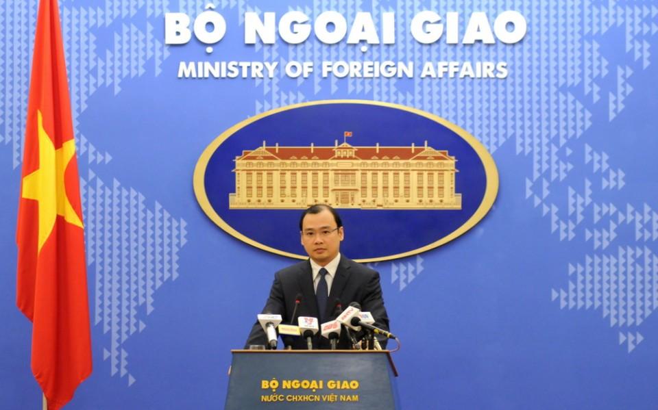 Một số quan chức Đài Loan ra khu vực Ba Bình đã xâm phạm nghiêm trọng chủ quyền của Việt Nam đối với quần đảo Trường Sa
