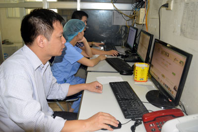 Bệnh viện Đa khoa trung tâm tỉnh: Hiệu quả từ ứng dụng công nghệ thông tin