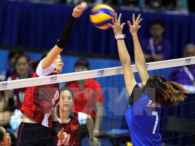 Đội tuyển bóng chuyền nữ Việt Nam thắng kịch tính trước Iran