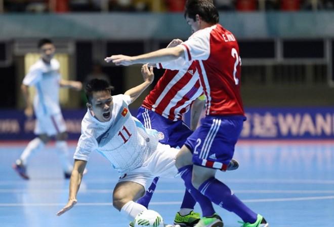 Đội tuyển Futsal Việt Nam không thể gây bất ngờ trước Paraguay