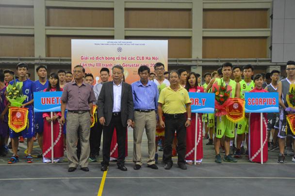 Giải bóng rổ trẻ Hà Nội tiếp tục chứng tỏ sức hút