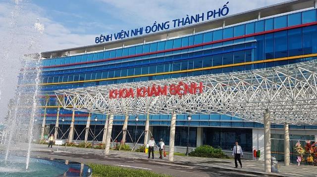 Bệnh viện nhi hiện đại nhất Việt Nam đi vào hoạt động