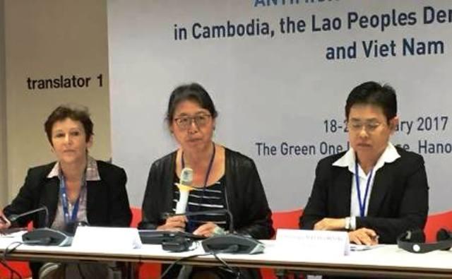 Việt Nam đang đi đúng hướng trong chương trình quốc gia về kháng kháng sinh