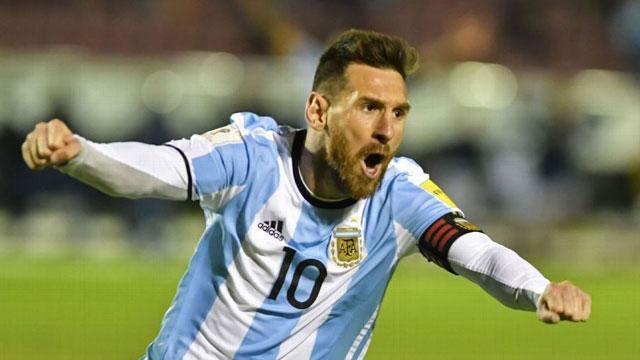 L. Messi đưa Argentina giành vé đến Nga