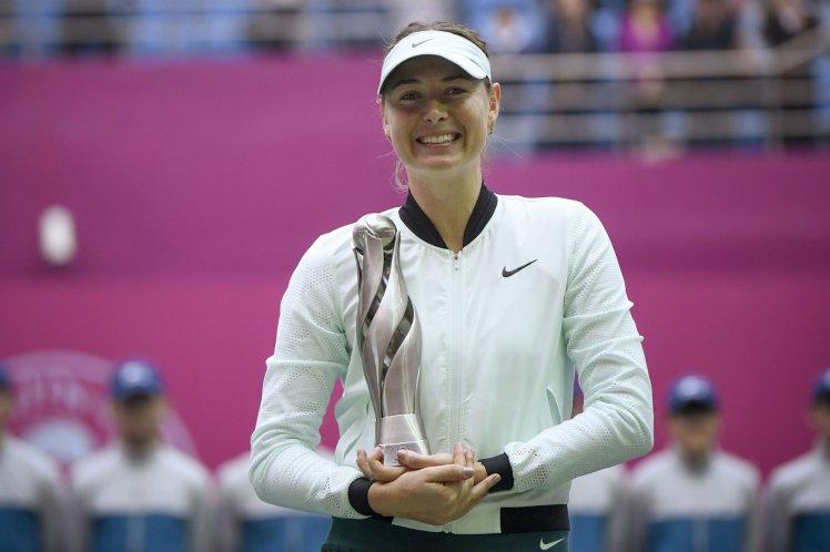 Sharapova vô địch giải Thiên Tân mở rộng