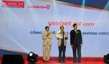 Vietjet được bầu chọn là 'Hãng hàng không được yêu thích nhất'