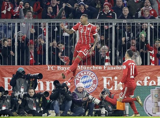 Bayern Munich đá bay Borussia Dortmund khỏi Cúp Quốc gia Đức