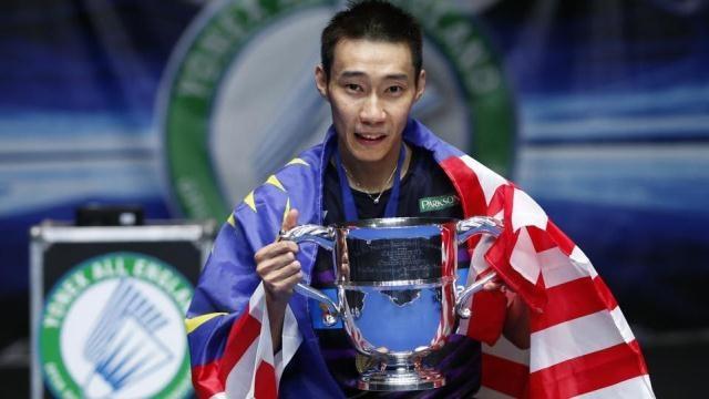 Lee Chong Wei lần thứ tư vô địch All England Open