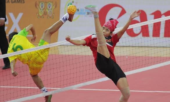Tuyển cầu mây nữ Việt Nam chuẩn bị cho SEA Games 29