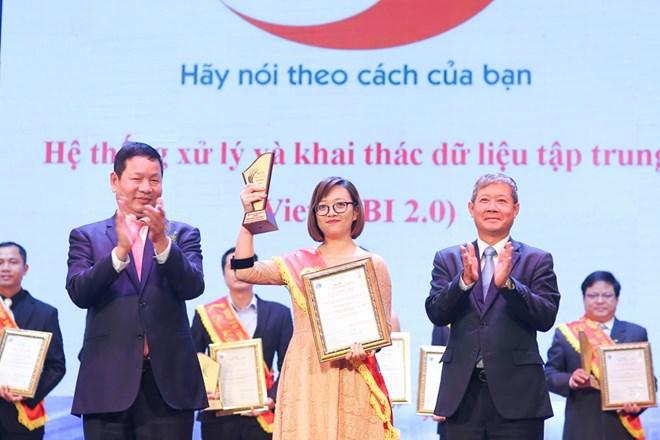 Viettel có 10 sản phẩm, dịch vụ được vinh danh tại Sao Khuê 2017