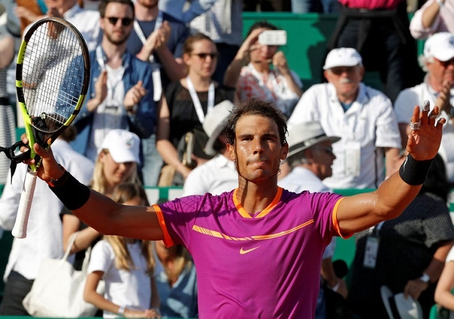 Nadal tiến sát danh hiệu Monte Carlo Masters thứ 10 trong sự nghiệp
