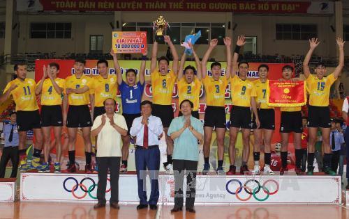 Kết thúc giải bóng chuyền tranh Cúp Hùng Vương 2017