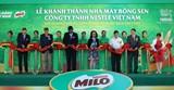 Nestle khánh thành nhà máy gần 1.600 tỷ đồng tại Hưng Yên