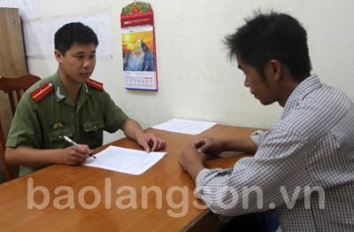 Công an huyện Lộc Bình thực hiện tốt 6 điều Bác Hồ dạy