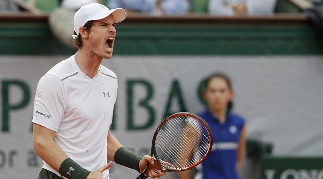 Murray cán mốc 650 trận thắng trong sự nghiệp