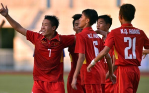 U15 Việt Nam xuất sắc giành vé vào bán kết giải U15 Đông Nam Á