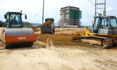 Tăng tốc trên công trường các dự án trọng điểm