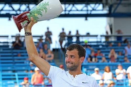 Dimitrov hạ gục Kyrgios để sở hữu danh hiệu Masters đầu tiên