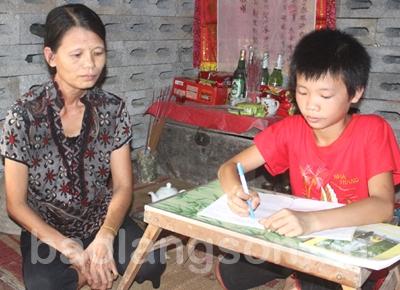 Điều ước của người mẹ nghèo tàn tật