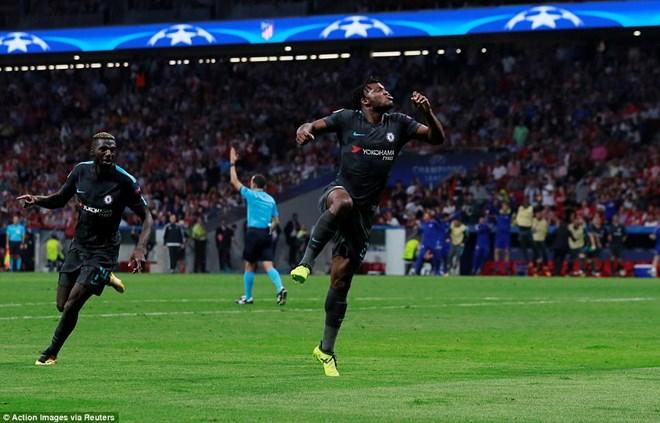 Chelsea lập nên kỳ tích sau màn ngược dòng đánh bại Atletico