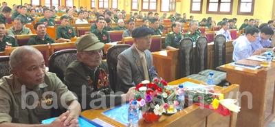 Cựu chiến binh tham gia xây dựng và bảo vệ Đảng, chính quyền