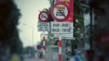 13 tuyến phố Hà Nội cấm Uber, Grab hoạt động giờ cao điểm
