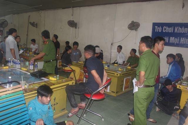 Phá sòng bạc liên tỉnh dưới dạng chơi game bắn cá ở Đồng Nai