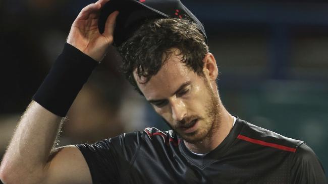 Murray chính thức rút lui khỏi Australia mở rộng 2018