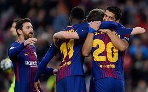 Messi lập công, Barca thắng trận đầu tiên trong năm